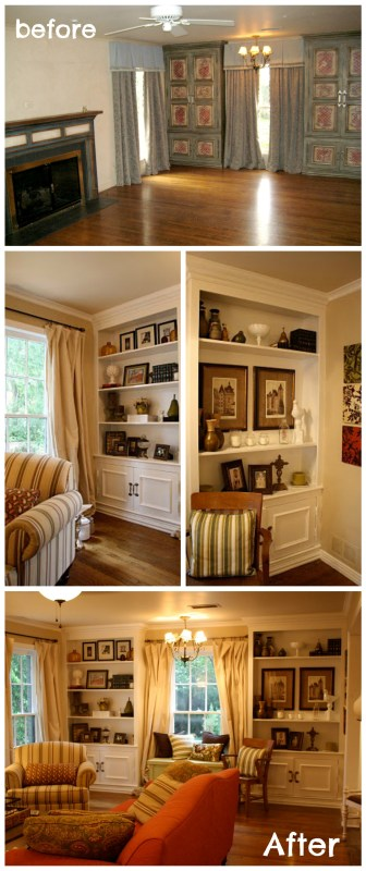 Remodelaholic | Updated Living Room From Italian To Country ...