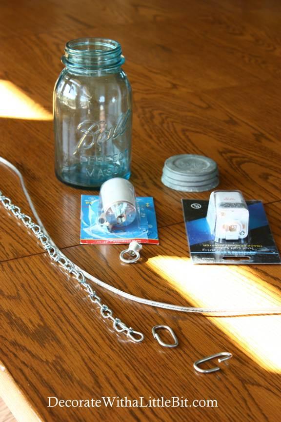 DIY Vintage Canning Mason Jar Pendant Lights (2)