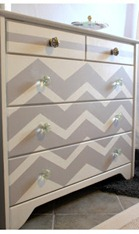 dresser-chevron-painted