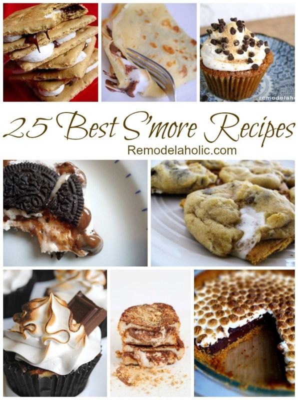 25 Best S'more Recipes