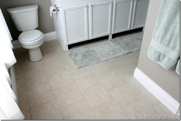 New Tile In Master Bathroom Remodelaholic (3)