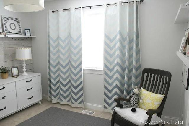boys-bedroom-grey-nursery-chevron-curtains-remodelaholic.com2