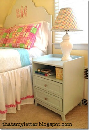 DIY Modern nightstand