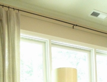 Drop Cloth Curtains DIY