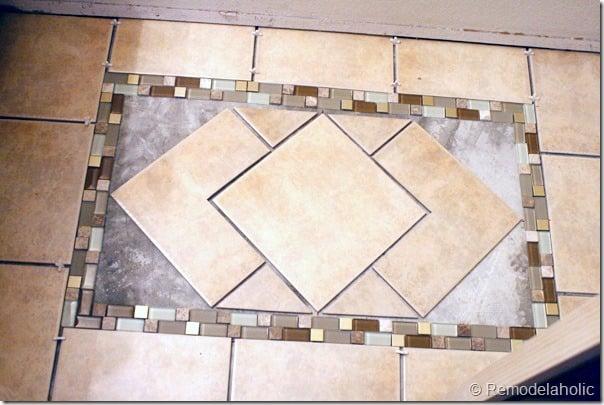 Inlaid tile rug tutorial (15)