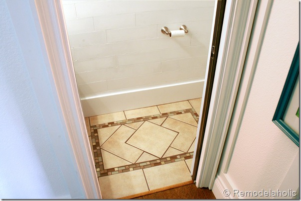 Inlaid tile rug tutorial (22)