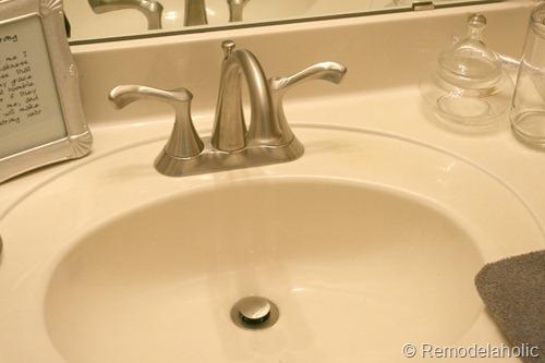 bathroom faucet install Park House