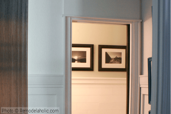How to Install a pocket door from Remodelaholic