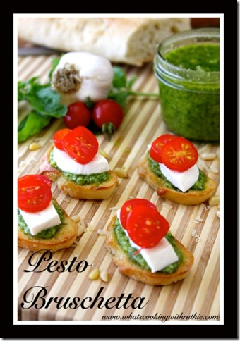 2 Pesto-Bruschetta-Recipe