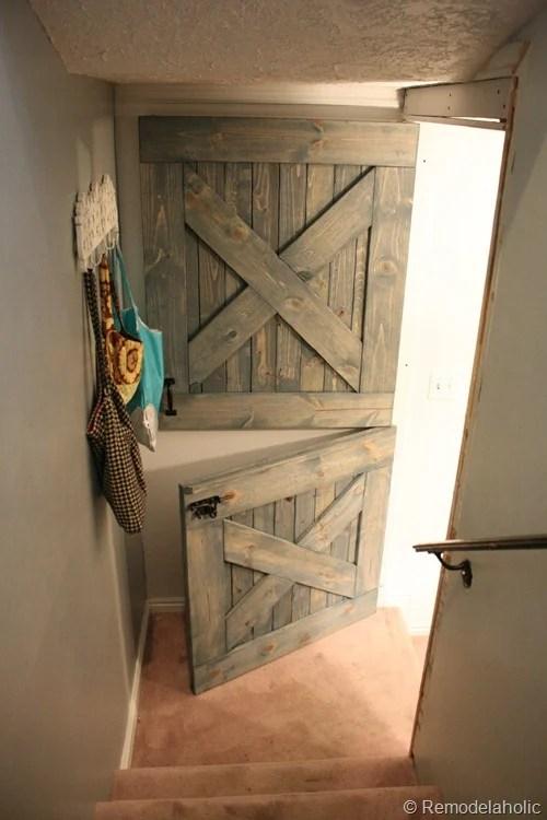 Dutch Door Installed 011