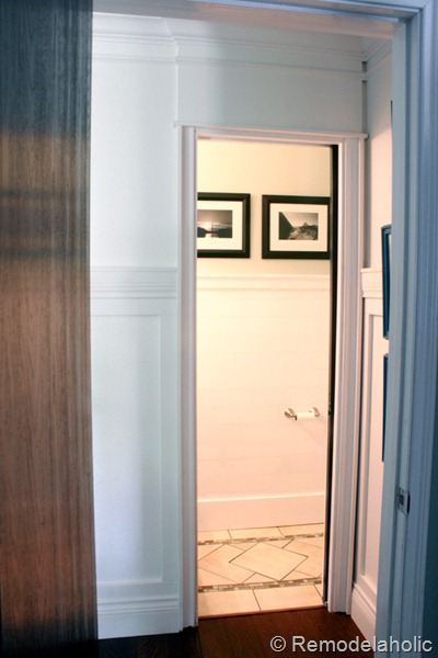 Pocket door kit installation on Remodelaholic