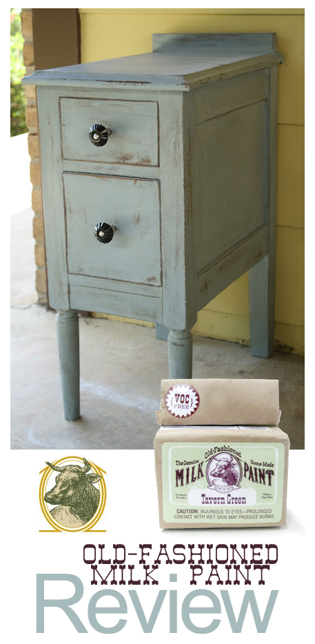 Old Fashioned MIlk Paint Review Pin Button