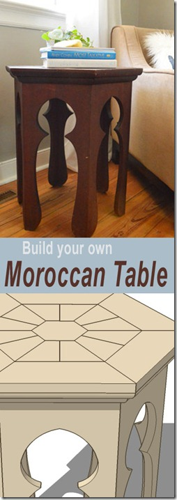 moroccan side table plans pin button copy