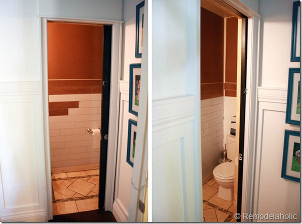 remodelaholic  inexpensive plank wall how to