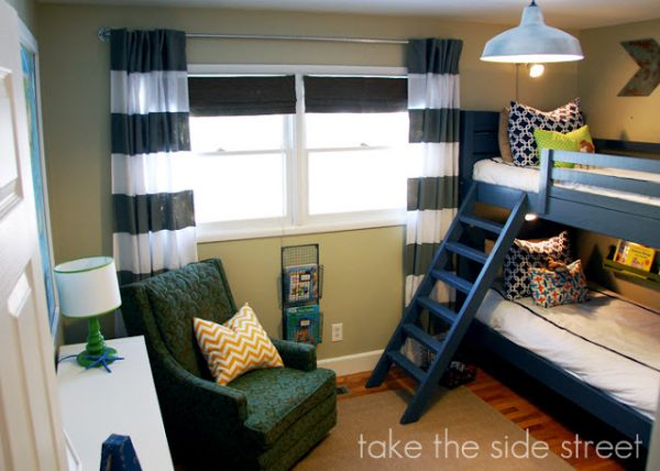 Remodelaholic How To Build A Toy Cubby Shelf Boys