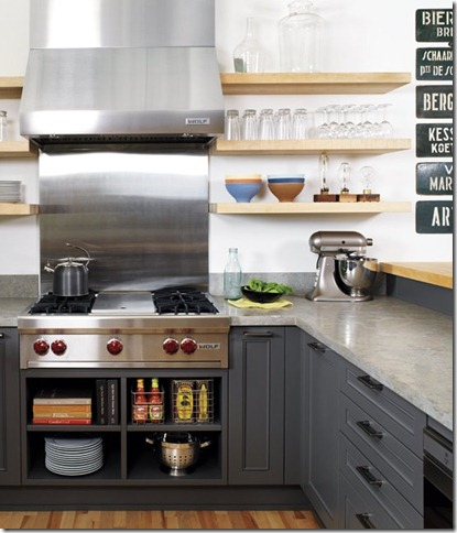 great cabinets open uppers