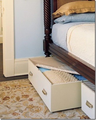 roll out drawers for under bed