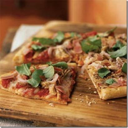 Cooking Light Roast Turkey and Prosciutto Pizza