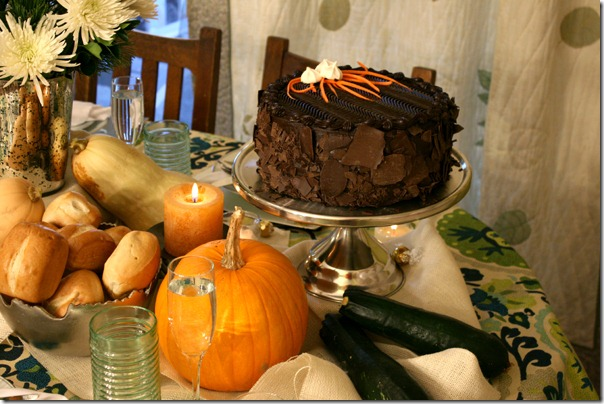 Fall Bounty tablescape Thanksgiving Table setting (11)
