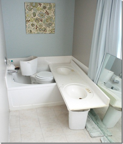How to Add height to a short bathroom vanity (16)