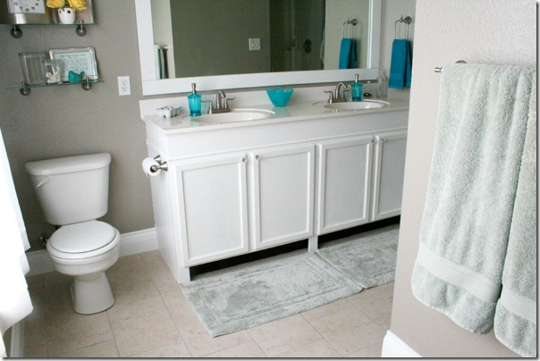 How to Add height to a short bathroom vanity (50)