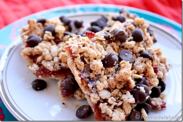 Raspberry Granola Bar Cookies Recipe3