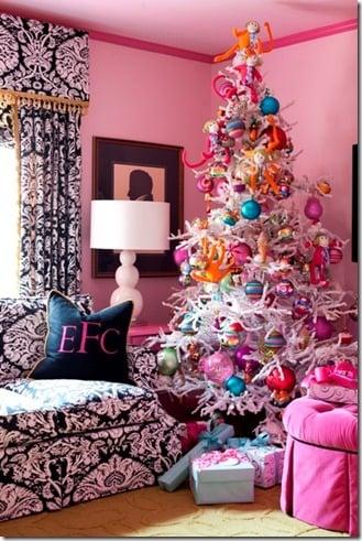 tobi Fairley Pink Christmas tree