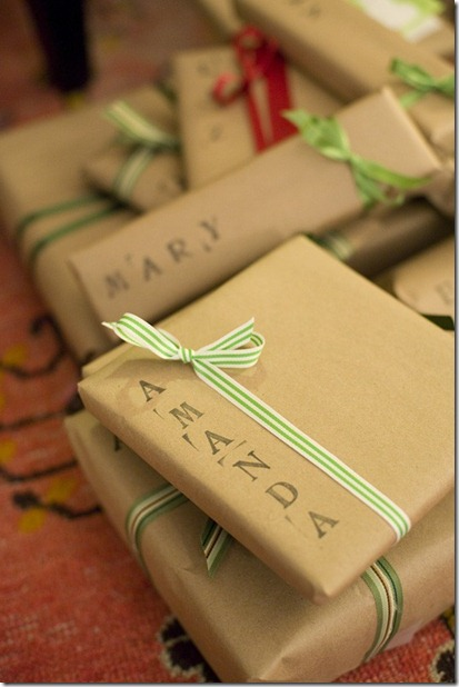 Confessions of a Wisconsin Housewife Brown Wrapping