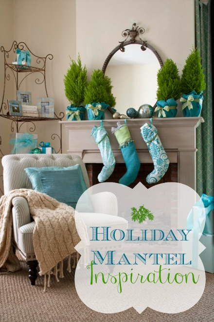 Holiday Mantel pin pic