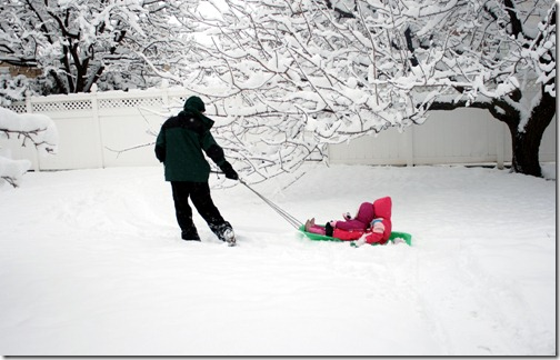 Playing in the snow (5)