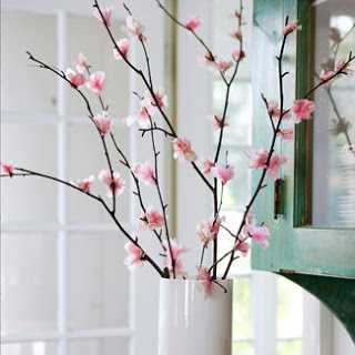 Good Housekeeping cherry blossom branches