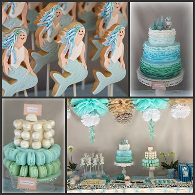 Karas Party Ideas Mermaid