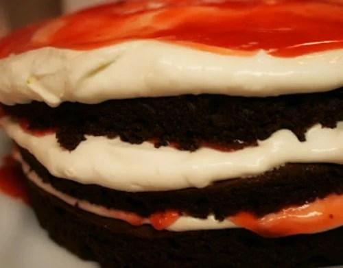 Remodelaholic Chocolate Layer Cake