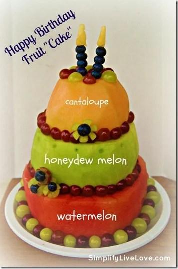 Simplify love live fruit birthday cake Best birthday cake ideas