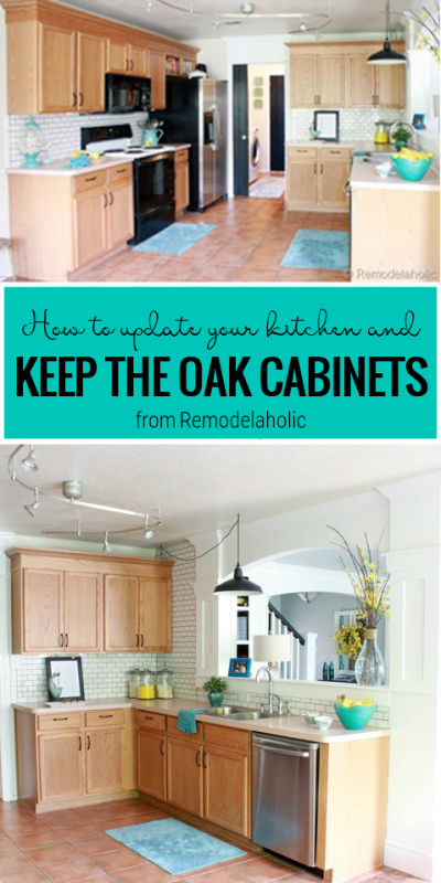 Update Your Kitchen Without Painting, A Tutorial From Remodelaholic