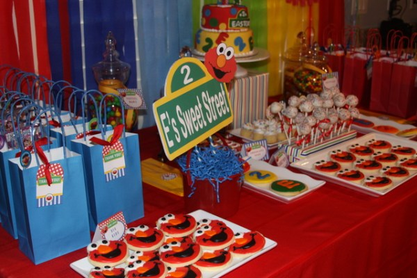 catch my party sesame street party