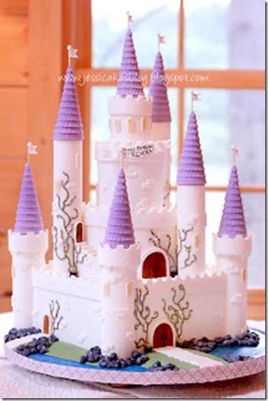 jessica cakes blog castle cake