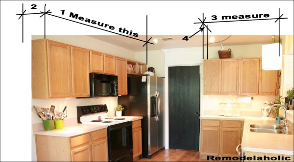 measuring for crown molding copy
