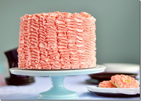 sweeta polita rich chocolate ruffled celebration cake Best birthday cake ideas