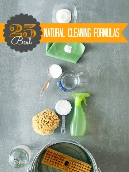 25 Best Natural Cleaner Recipes