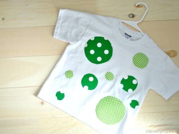 St. Patrick's Day No Sew Holiday Shirt