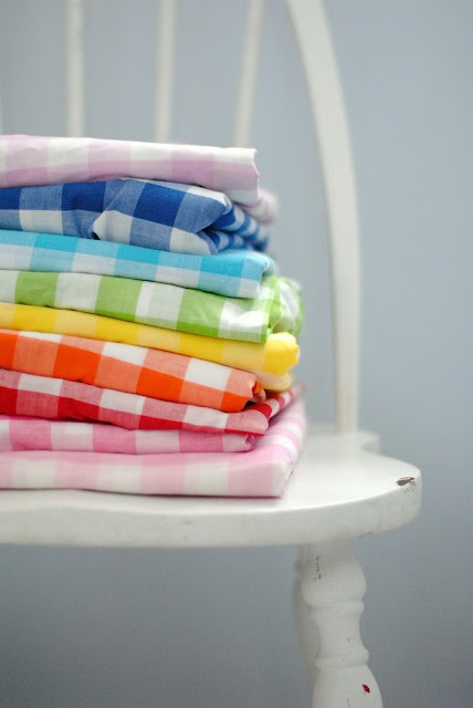 A Pretty Cool Life rainbow gingham
