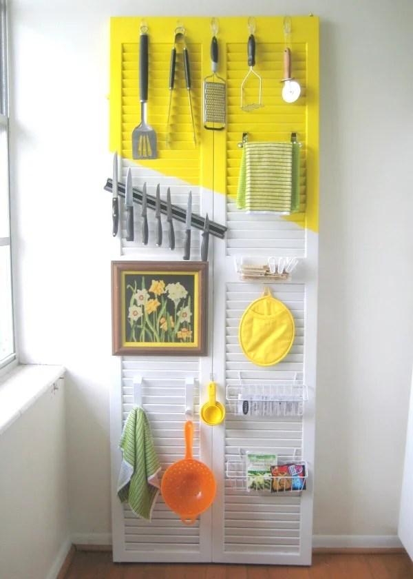 Marvelous Cheap Kitchen Storage Ideas Part - 12: CRAFT Door Organizer