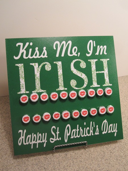 Irish Countdown Board for St. Patricks Day by Infarrantly Creative