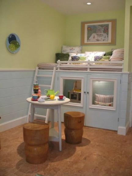 Kids Playhouse loft bed