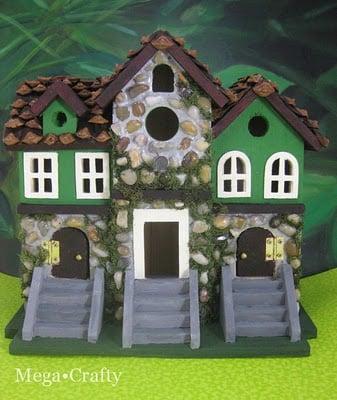 Leprechaun house, mega crafty