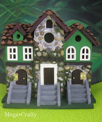 Leprechaun house for St. Patrick's Day by mega crafty