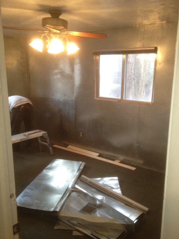 Lindsay & Drew sheet metal room