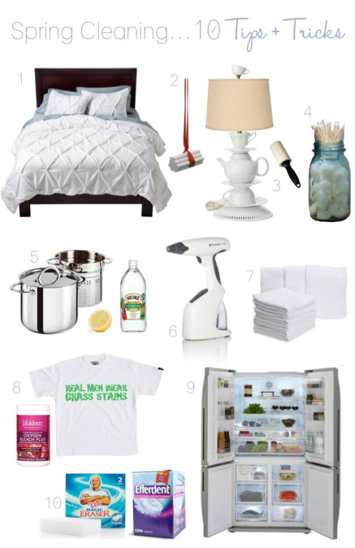 Pink Pistachio spring cleaning tips