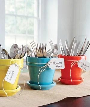 Simply Seleta potted silverware